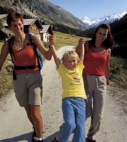 Foto: Tourismusbüro / Wander Tour / Einödbrücke-Stockeralm-Finkalm / 17.08.2007 09:51:25