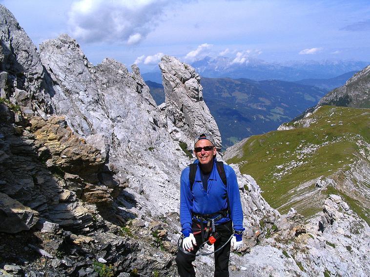 Foto: Andreas Koller / Wander Tour / Über die Franz Fischer Hütte auf den Faulkogel (2654 m) / Bizarre Felsformationen am Faulkogel / 17.08.2007 11:01:34