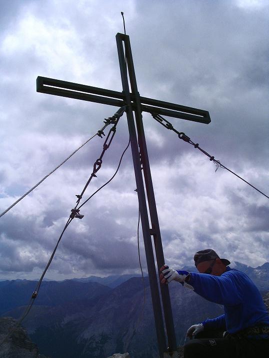 Foto: Andreas Koller / Wander Tour / Über die Franz Fischer Hütte auf den Faulkogel (2654 m) / Am Faulkogel / 17.08.2007 10:59:28