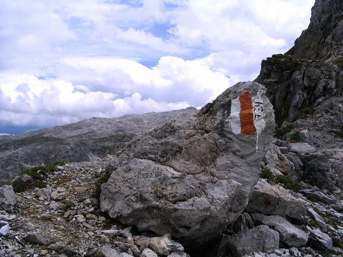 Foto: Andreas Koller / Wander Tour / Über die Franz Fischer Hütte auf den Faulkogel (2654 m) / Blick von der Neukarscharte nach SO / 17.08.2007 10:57:18