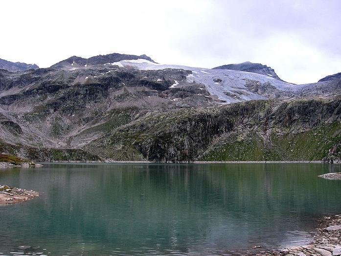 Foto: Andreas Koller / Wander Tour / Kombinierte Tour auf die Granatspitze (3086 m) / Granatspitze und Stubacher Sonnblick (3088 m) über dem Sonnblickkees / 17.08.2007 13:05:10