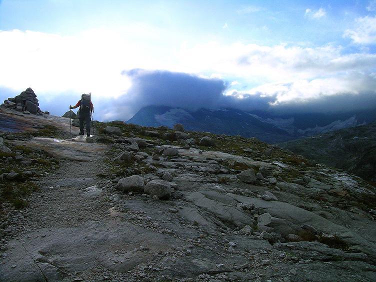Foto: Andreas Koller / Wander Tour / Kombinierte Tour auf die Granatspitze (3086 m) / Anstieg zum Sonnblickkees / 17.08.2007 13:03:13