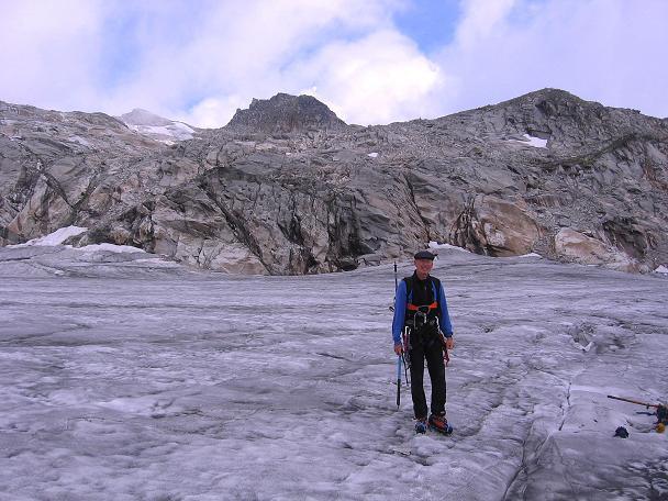 Foto: Andreas Koller / Wander Tour / Kombinierte Tour auf die Granatspitze (3086 m) / Am Sonnblickkees gegen Hohe Fürlegg (2947 m) / 17.08.2007 13:02:53