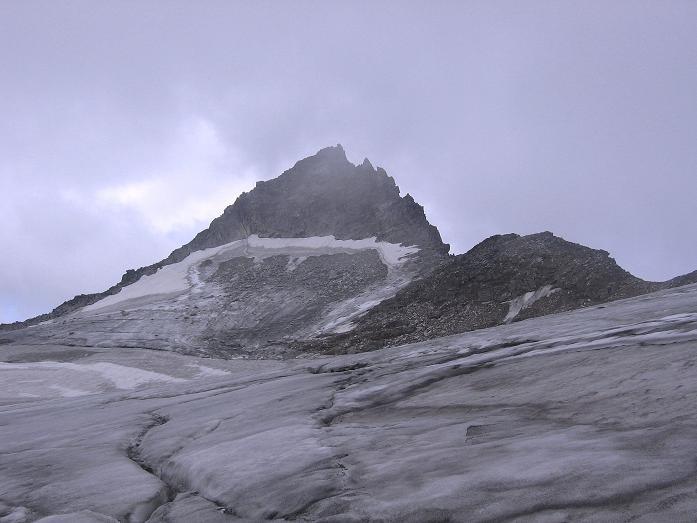 Foto: Andreas Koller / Wander Tour / Kombinierte Tour auf die Granatspitze (3086 m) / Das Ziel: die Granatspitze / 17.08.2007 13:02:18
