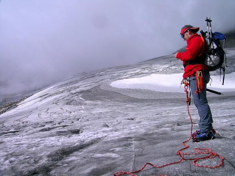 Foto: Andreas Koller / Wander Tour / Kombinierte Tour auf die Granatspitze (3086 m) / Am Sonnblickkees / 17.08.2007 13:02:02
