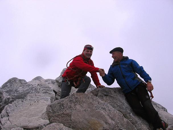 Foto: Andreas Koller / Wander Tour / Kombinierte Tour auf die Granatspitze (3086 m) / Gipfelfreuden auf der Granatspitze / 17.08.2007 13:00:05