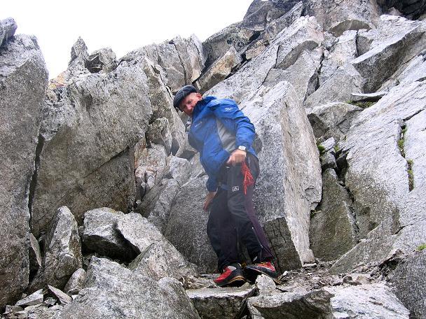 Foto: Andreas Koller / Wander Tour / Kombinierte Tour auf die Granatspitze (3086 m) / In der Granatspitz-SO-Flanke (II) / 17.08.2007 12:59:49