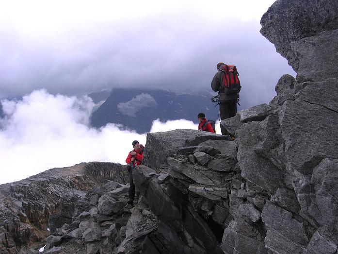 Foto: Andreas Koller / Wander Tour / Kombinierte Tour auf die Granatspitze (3086 m) / Am O-Grat der Granatspitze / 17.08.2007 12:59:26