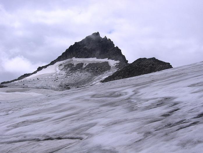 Foto: Andreas Koller / Wander Tour / Kombinierte Tour auf die Granatspitze (3086 m) / Noch ein Blick auf die Granatspitze / 17.08.2007 12:59:11