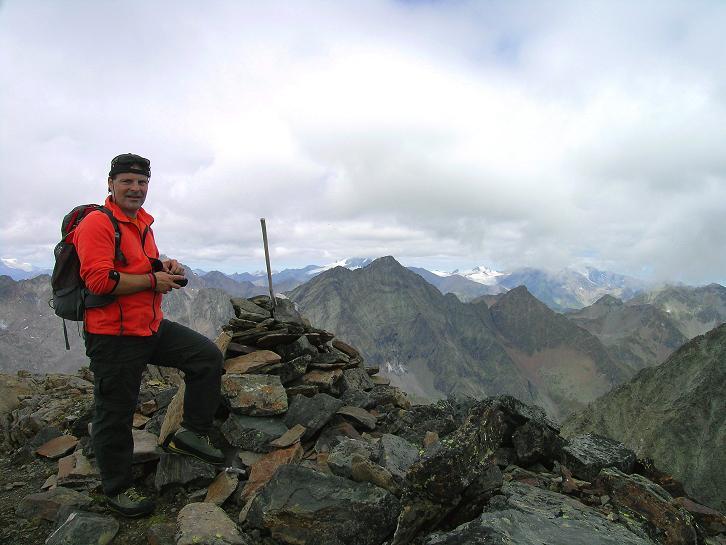 Foto: Andreas Koller / Wander Tour / Von Osttirol nach Kärnten auf den Kruckelkopf (3181 m)  / Am Kruckelkopf / 18.08.2007 13:18:00