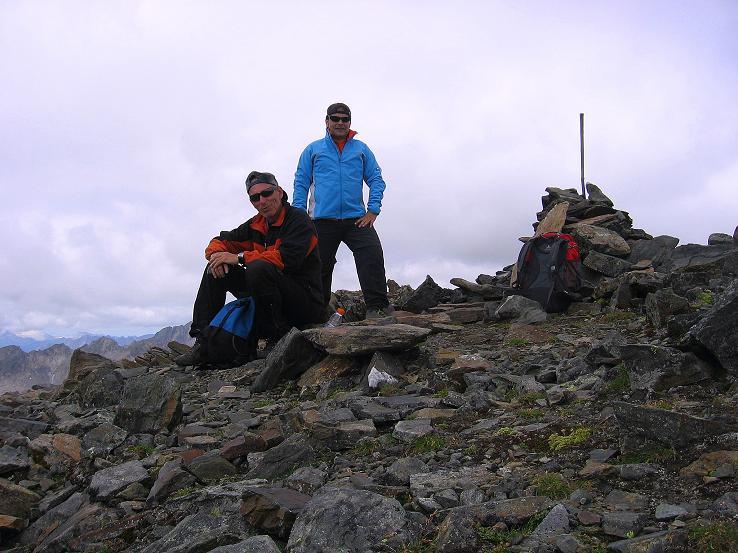Foto: Andreas Koller / Wander Tour / Von Osttirol nach Kärnten auf den Kruckelkopf (3181 m)  / Gipfelerfolg am Kruckelkopf / 18.08.2007 13:16:45