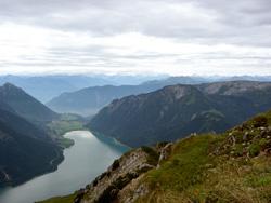 Foto: hansjoerg / Wander Tour / Von Pertisau auf die Seeberg Spitze / Blick zum Achensee / 19.08.2007 17:29:04