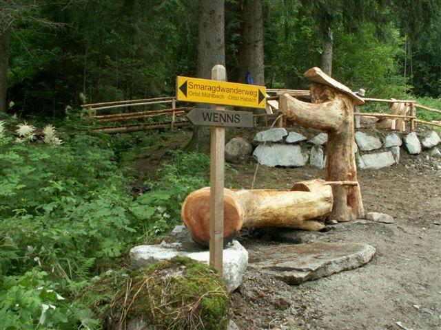 Foto: Tourismusbüro / Nordic Walking Tour / Smaragdwanderweg / 20.08.2007 16:58:58