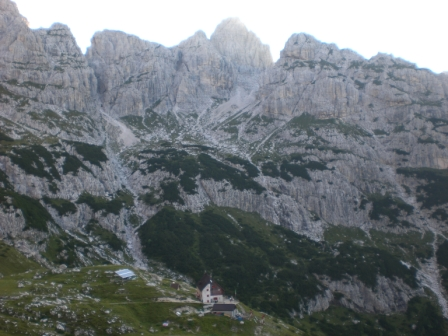 Foto: dobratsch11 / Klettersteig Tour / Über die Mosesscharte auf den Wischberg (Jòf Fuart) / Rif. Corsi / 20.08.2007 21:22:22
