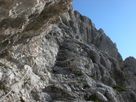 Foto: dobratsch11 / Klettersteig Tour / Über die Mosesscharte auf den Wischberg (Jòf Fuart) / 20.08.2007 21:21:23