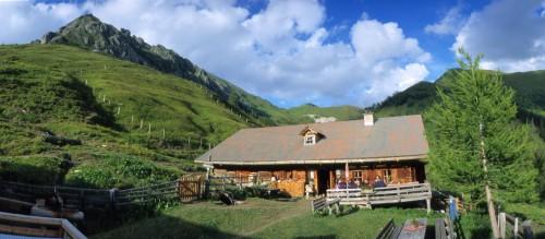 Foto: Kloiber Gabi / Wander Tour / Draugsteinalmen - Steinmannhütte & Schrambachhütte / Schrambachhütte, 1.778 m / 23.08.2007 14:43:21