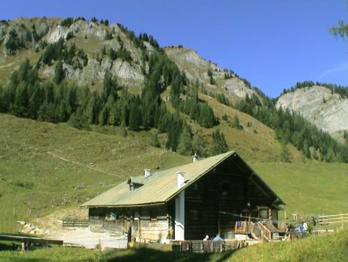 Foto: Kloiber Gabi / Wander Tour / Heukareck / Niggltalalm, 1.507 m / 24.08.2007 11:55:16