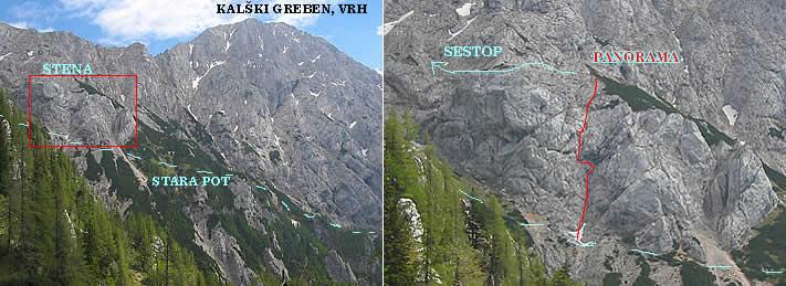 Foto: plaisir / Kletter Tour / PANORAMA / wand mit PANORAMA weg / 25.08.2007 17:42:29