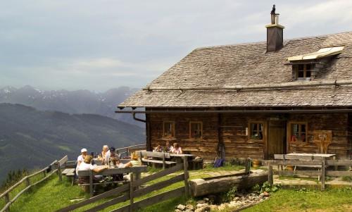 Foto: Kloiber Gabi / Wander Tour / Rundwanderung Ellmautal-Almensteig von Alm zu Alm / Ellmaualm, 1.794 m / 27.08.2007 15:49:01