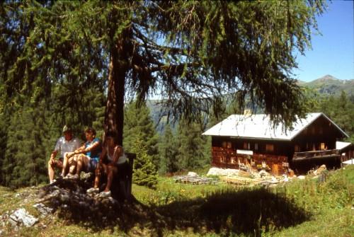 Foto: Kloiber Gabi / Wander Tour / Rundwanderung Ellmautal-Almensteig von Alm zu Alm / Filzmoosalm, 1710 m  / 27.08.2007 15:50:03