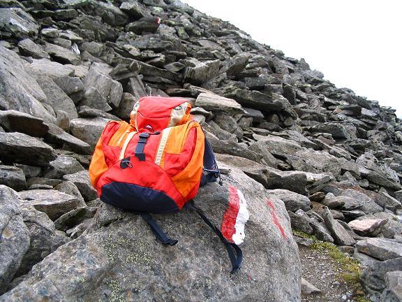 Foto: Andreas Koller / Wander Tour / Spritztour über Obergurgl auf den Festkogel (3038 m) / Aufstieg über Blockwerk / 30.08.2007 00:13:58