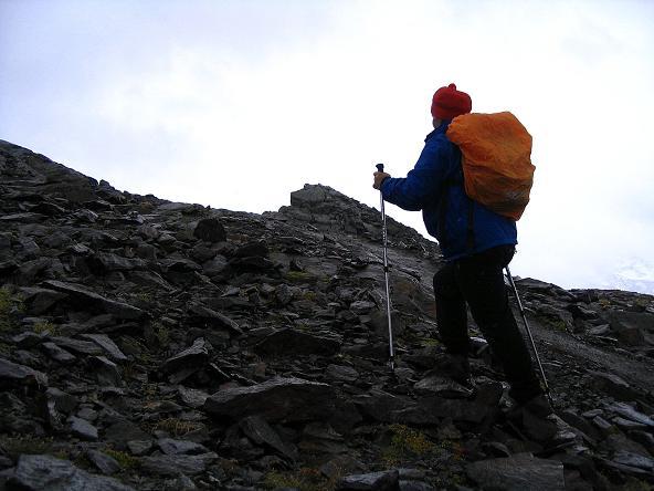 Foto: Andreas Koller / Wander Tour / Spritztour über Obergurgl auf den Festkogel (3038 m) / Die letzten Meter zum Gipfel des Festkogel / 30.08.2007 00:13:01
