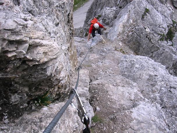 Y Set Klettersteig : Fotogalerie tourfotos fotos zur klettersteig tour karhorn