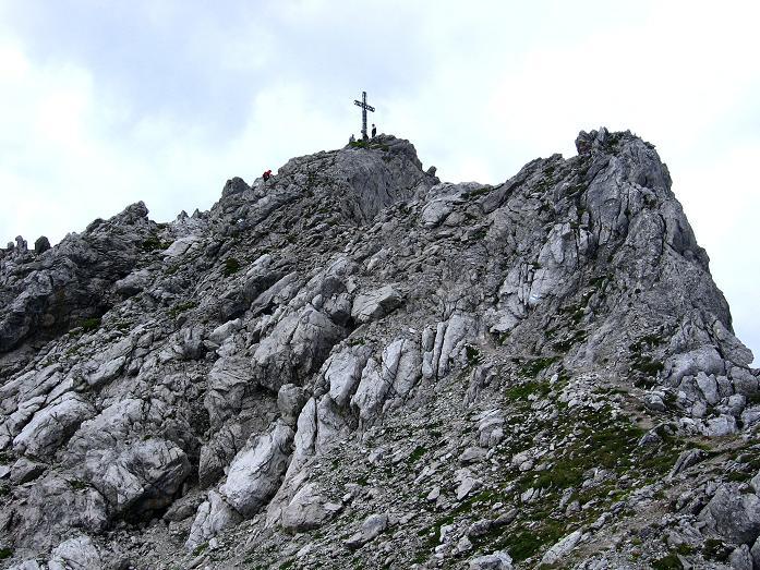 Foto: Andreas Koller / Klettersteig Tour / Karhorn - Klettersteig (2416 m) / Die letzten Meter zum Karhorn / 30.08.2007 02:37:07