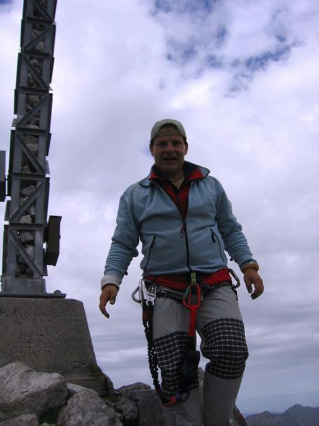 Foto: Andreas Koller / Klettersteig Tour / Karhorn - Klettersteig (2416 m) / Am Karhorn / 30.08.2007 02:36:12