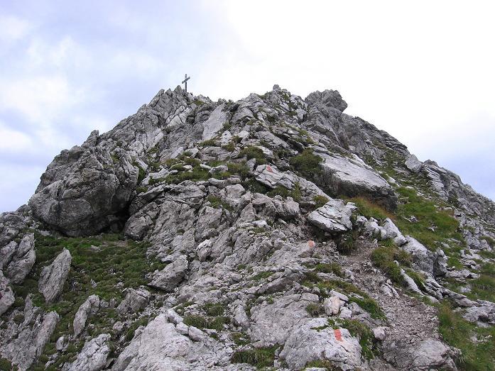 Foto: Andreas Koller / Klettersteig Tour / Karhorn - Klettersteig (2416 m) / Auch im Abstieg am Normalweg muss man aufpassen. / 30.08.2007 02:33:59