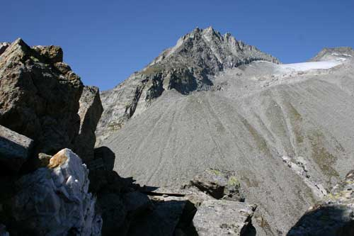 Foto: leitner monika / Wander Tour / Von der Edelrauthütte auf den Weißzint / Aufstiegsweg zum Hohen Weißzint / 30.08.2007 19:03:11