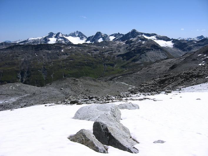 Foto: Andreas Koller / Wander Tour / Über den SO-Sporn auf den Galenstock (3586m) / Am Sidelengletscher / 01.09.2007 13:12:32