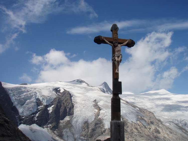 Foto: Grasberger Gerhard / Wander Tour / Über den SO-Grat Klettersteig auf die Kristallwand 3310m / Am Lobentörl / 03.09.2007 13:48:49