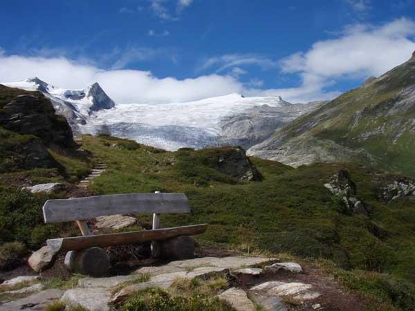Foto: Grasberger Gerhard / Wander Tour / Über den SO-Grat Klettersteig auf die Kristallwand 3310m / Vom Salzbodensee Richtung Schlattenkess / 03.09.2007 13:47:21
