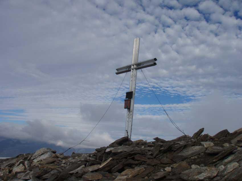 Foto: Grasberger Gerhard / Wander Tour / Über den SO-Grat Klettersteig auf die Kristallwand 3310m / Kristallwandgipfel 3310m / 03.09.2007 13:52:15