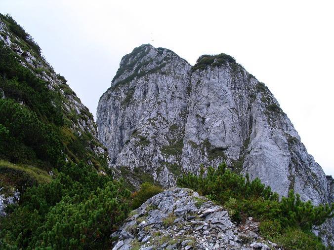 Foto: Andreas Koller / Klettersteig Tour / Wildfrauensteig von der Ardningalm (1992 m) / Der O-Grat des Bosruck / 03.09.2007 20:10:59