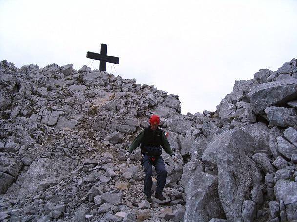 Foto: Andreas Koller / Klettersteig Tour / Wildfrauensteig von der Ardningalm (1992 m) / Abstieg vom Bosruck nach W / 03.09.2007 20:04:35