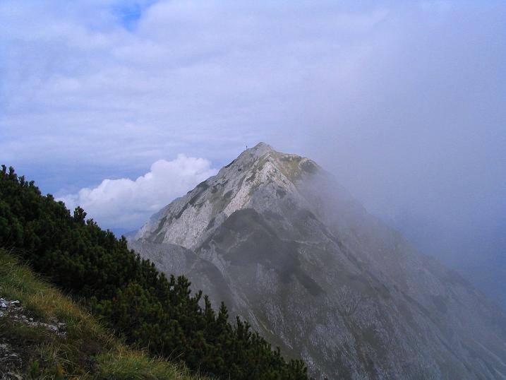 Foto: Andreas Koller / Klettersteig Tour / Wildfrauensteig von der Ardningalm (1992 m) / Der Bosruck von W / 03.09.2007 20:01:04