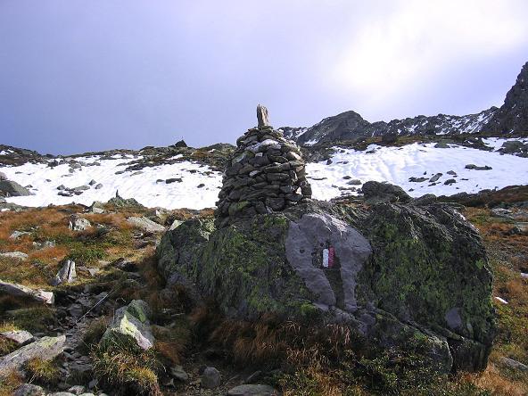 Foto: Andreas Koller / Wander Tour / Großer Moosstock (3061 m) / Das weite Kar oberhalb der Schlafhäuser / 10.09.2007 03:10:51