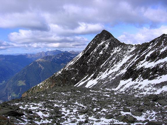 Foto: Andreas Koller / Wander Tour / Großer Moosstock (3061 m) / Blick vom Anstieg nach SW / 10.09.2007 03:10:03