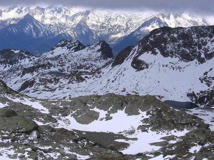 Foto: Andreas Koller / Wander Tour / Großer Moosstock (3061 m) / Blick zum Moosstocksee / 10.09.2007 03:08:23