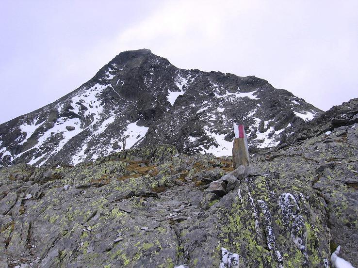 Foto: Andreas Koller / Wander Tour / Großer Moosstock (3061 m) / Letzter Blick auf den Moosstock / 10.09.2007 03:05:53