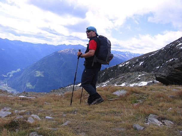 Foto: Andreas Koller / Wander Tour / Großer Moosstock (3061 m) / Im Abstieg vom Moosstock / 10.09.2007 03:04:37